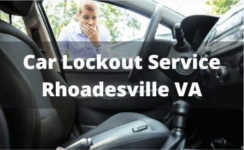 Car Lockout Service Rhoadesville VA