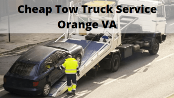 Cheap Tow Truck Service Orange VA