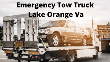 Emergency Tow Truck Lake Orange Va